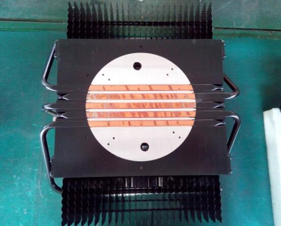 300-500w heatpipe sink